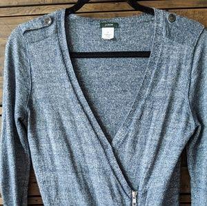J. Crew Merino Wool/Linen Sweater